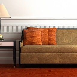 Home decorations and warm design