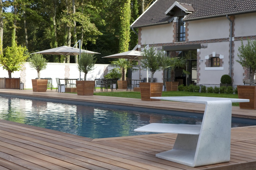 design pool outdoor
